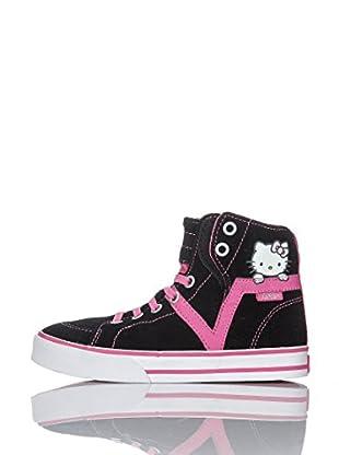 Vans Zapatillas Z Susie Hi V (Negro / Rosa)