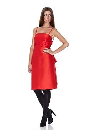 Caramelo Vestido Fiesta (Rojo)