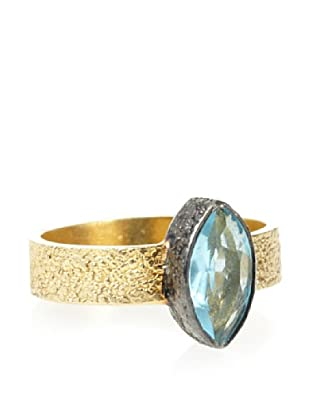 Robindira Unsworth Blue Quartz Marquise Ring