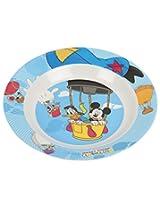 """Dsny Melamine Mickey(CH)Soup Plate 8"""""""