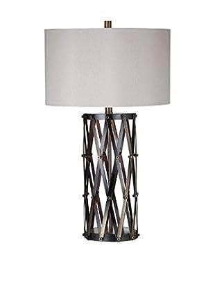 Bassett Mirror Co. Sommerset Table Lamp, Bronze