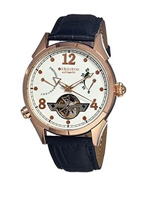 Heritor Automatic Uhr Bragg Herhr1204 schwarz 48  mm