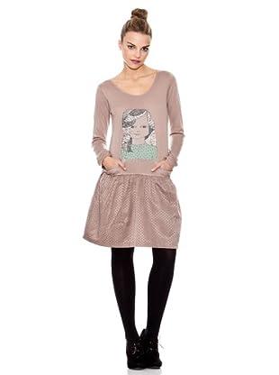 Laga Vestido Print (Rosa)