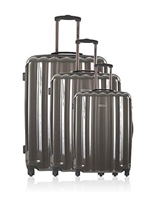 Travel One Set de 3 trolleys rígidos Altamura