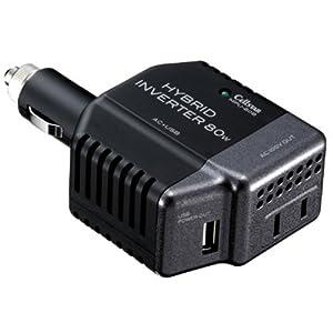セルスター(CELLSTAR) DC/ACインバーター USB端子付きソケットタイプ MPU-80B/12V専用 MPU-80B