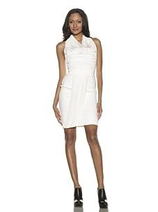 Preen Women's Thread Halter Dress (White)