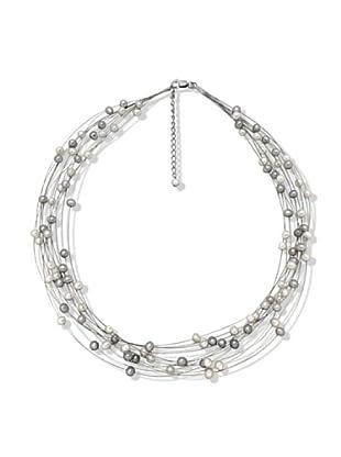 Nova Pearls Copenhagen Collar de Perla De Agua Dulce 4,5 - 5 mm