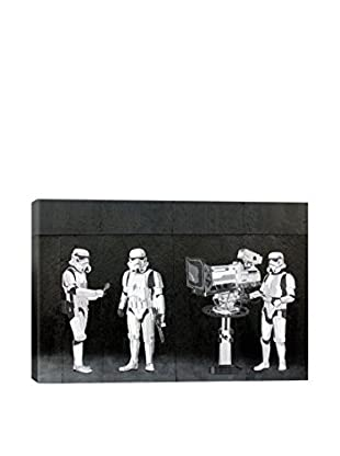 Banksy Stormtroopers Filming Oscars Giclée On Canvas