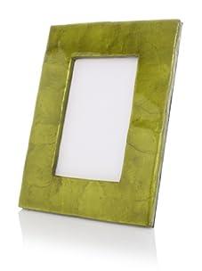 "Terragrafics Cabana 4""x 6"" Picture Frame (Green)"