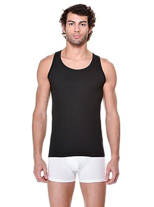 Cotonella Pack de 2 Camisetas Tirantes (negro)