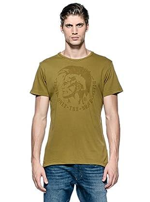 Diesel Camiseta T-Achel-Rs (Marrón)