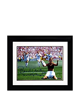 Steiner Sports Memorabilia Framed Brandi Chastain Signed PK Celebration Photo with