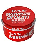 Dax Wave & Groom Hair Dress Wax 99g with Free Ayur Soap