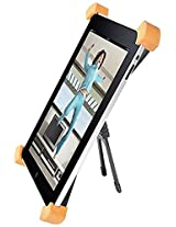 Monoprice Aluminum Rotatable and Foldable Desktop Stand for All 9.7-Inch iPad, Black (108264)