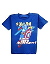 Avenger Royal Blue Half Sleeve T-Shirt