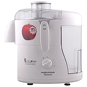 Morphy Richards Maximo Juice Extractor-White