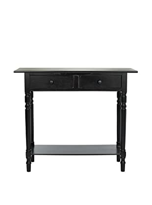 Safavieh Rosemary Console, Distressed Black