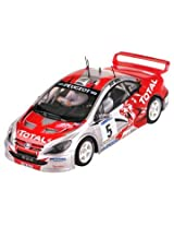 SCX 1/32 Analog System Pegeout 307 WRC (Thiry) Slot Car