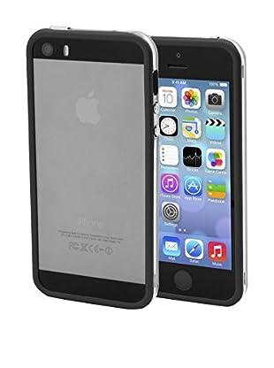 Unotec Bumper Dual Color iPhone 5/5S Negro
