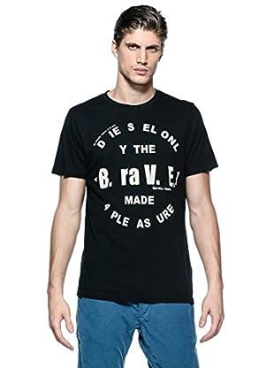 Diesel Camiseta T-Bayu-R (Negro)