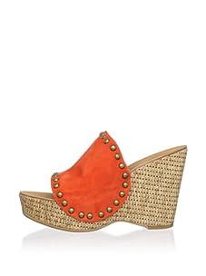 Ash Women's Paprika Wedge Sandal (Orange)