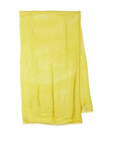 Lulla by Bindya Women's Shimmer Scarf (Yellow)