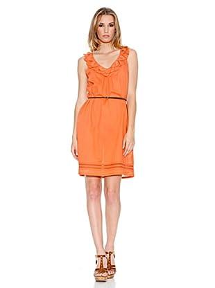 Pepe Jeans London Vestido Karen (Naranja)