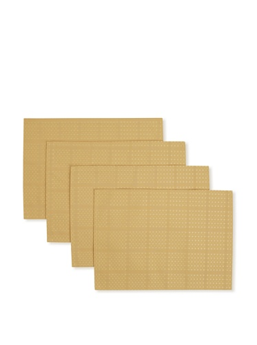 Bardwil Set of 4 Evolution Placemats (Straw)