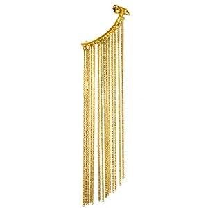 Via Mazzini Metal Stud Earings - Gold