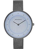 Skagen Gitte Analog Blue Dial Women's Watch - SKW2292