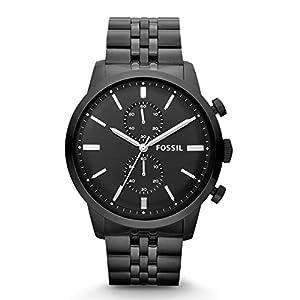 Fossil Townsman Chronograph Analog Black Dial Men's Watch - FS4787