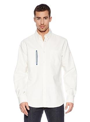 Burton Camisa Hemd Manchstr (Blanco)