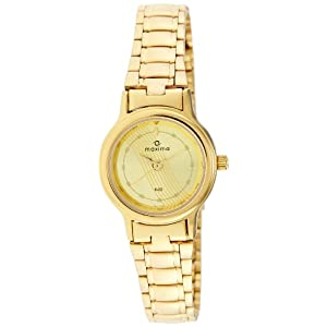 Maxima Analog Gold Dial Women's Watch - 26791CMLY