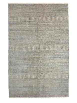 Darya Rugs Modern Oriental Rug, Grey, 6' 1