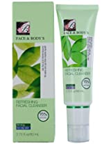 Face and Body Refreshing Facial Cleanser, Oily Skin, 2.7 Ounce (Pack of 2)