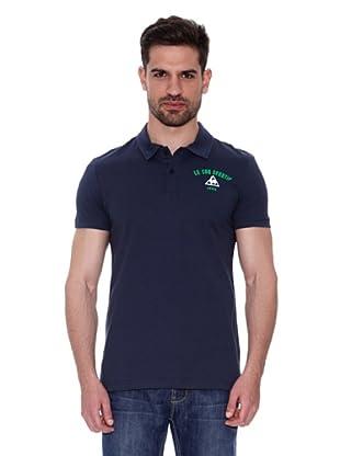 Le Coq Sportif Polo Audruik Pss (Azul)
