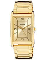 Sonata Analog Gold Dial Men's Watch - 77002YM02A