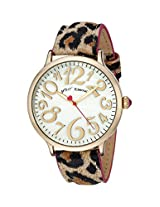 Betsey Johnson Women's BJ00496-02 Analog Display Quartz Multi-Color Watch