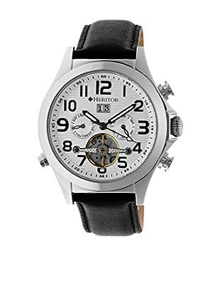 Heritor Automatic Uhr Adams Herhr2701 schwarz 50  mm