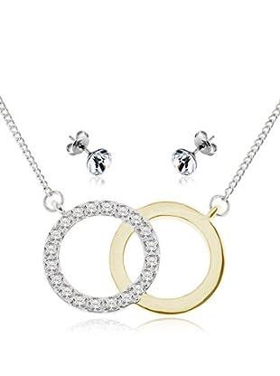 Diamond Style Set Kette, Anhänger und Ohrringe Forever