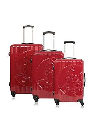 Keith Haring Set de 3 trolleys rígidos 29500/3