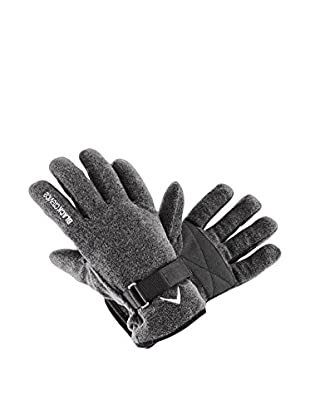 Black Crevice Guantes Fleece