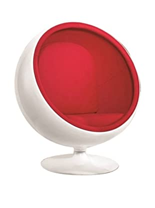 Manhattan Living Ball Chair, Red