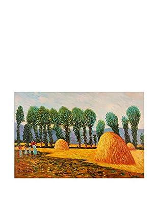 Arte Dal Mondo Pintura al Óleo sobre Lienzo Monet Balle Di Fieno