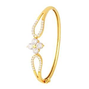 Spargz Fashion Fiesta Bracelet Kada With American Diamonds AISK 007 [Jewellery]