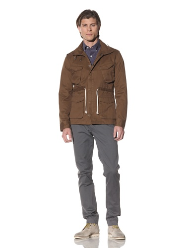Shades of Grey by Micah Cohen Men's Cotton M65 Jacket (Tobacco)