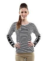 Miss Chase Women's Plain T-Shirt