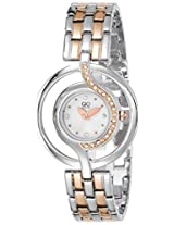 Gio Collection Analog White Dial Women's Watch - FG2004-22