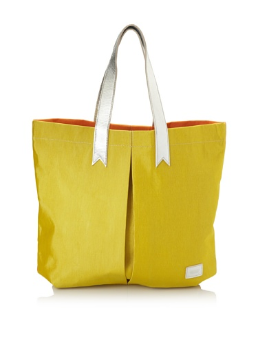 Meredith Wendell Women's Canvas Business + Party Mullet Tote (yellow/orange)