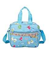 Mee Mee MM-10 (S) Multi Functional Diaper Bag (Blue)